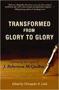book cover transformed glory to glory