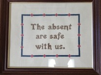 Absent are safe with us